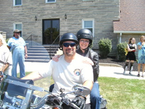 My wonderful parents, Rob and Chele Butler on Motorcycle Sunday