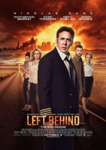 Even here Nicholas Cage looks somewhat annoyed with this movie.